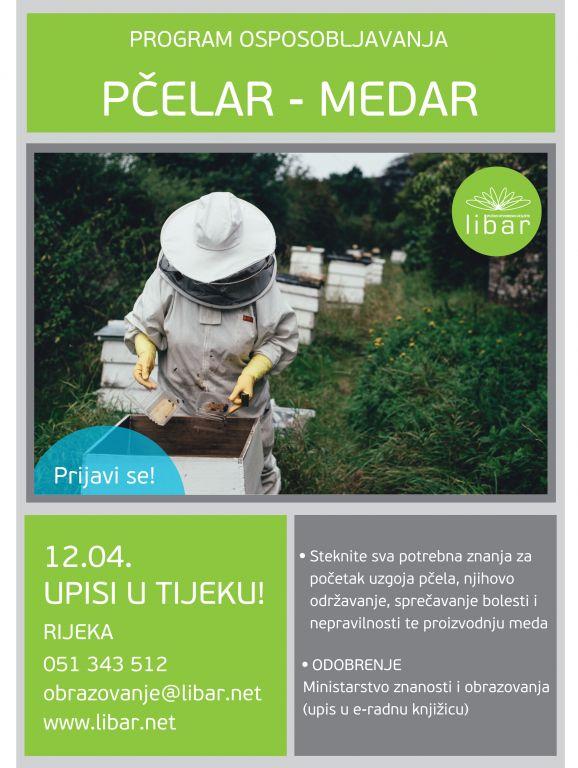 Upisi u program osposobljavanja za Pčelara/Medara u Rijeci
